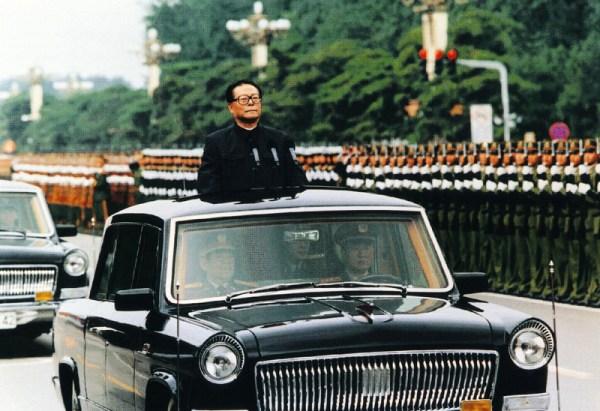 Hongqi parade