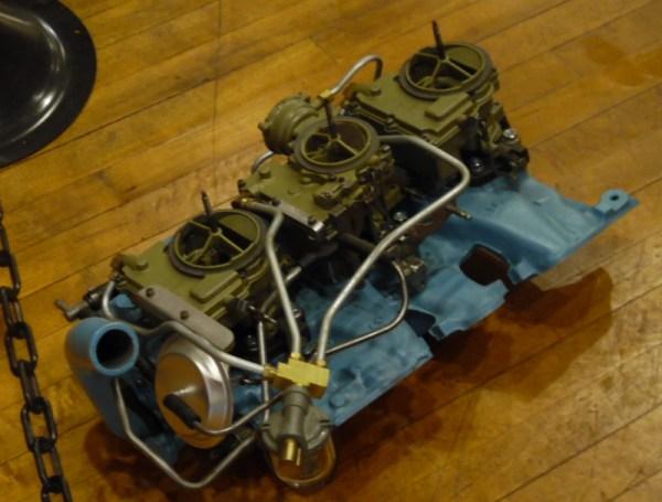 Tri-Power intake
