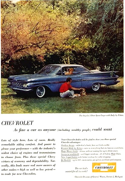 1959 Chevrolet Ad-12