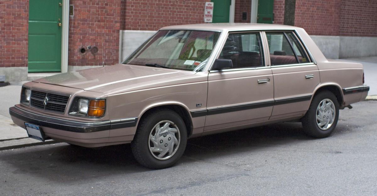 & COAL: 1988 Dodge Aries America: O K Car