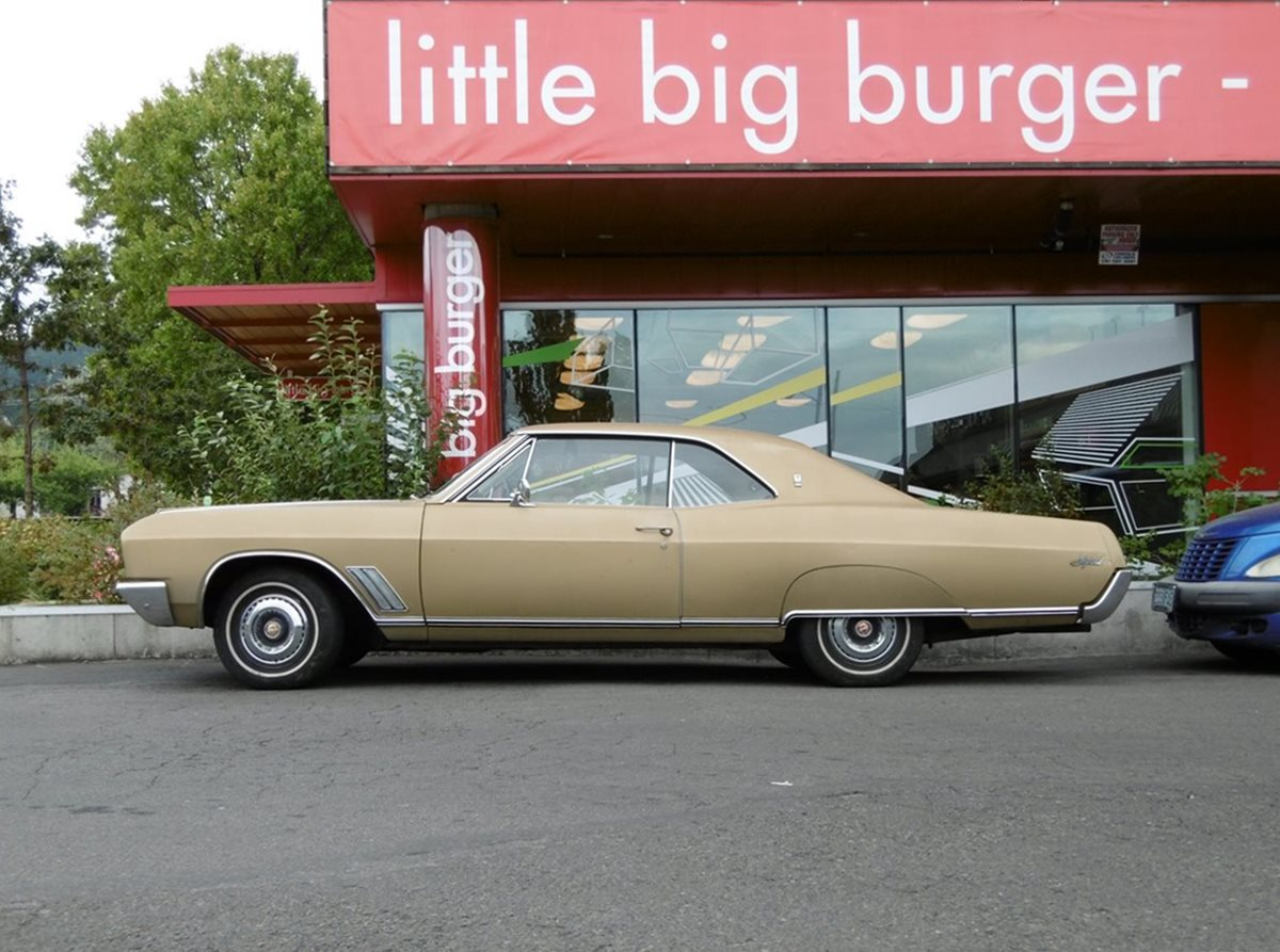 Curbside Classic 1967 Buick Skylark Big Little Car 1950s And 1960s Riviera