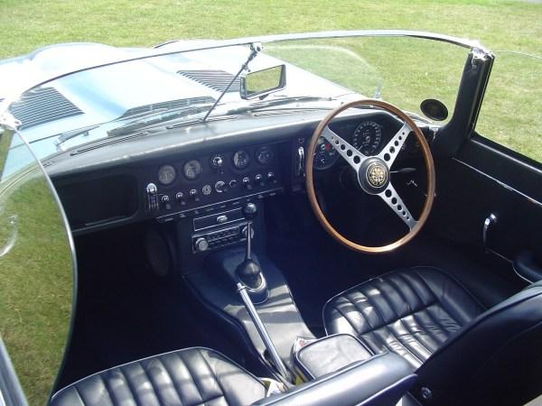 E type series II interior