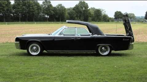 Lincoln 1961 conv top