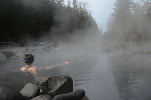 McCredie Hot springs