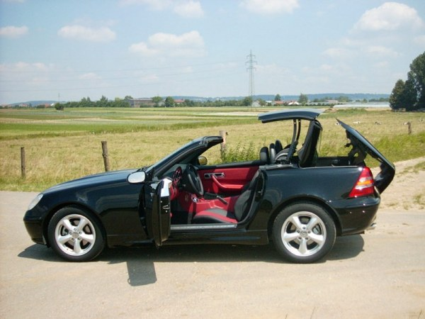 Mercedes SLK roof wiki