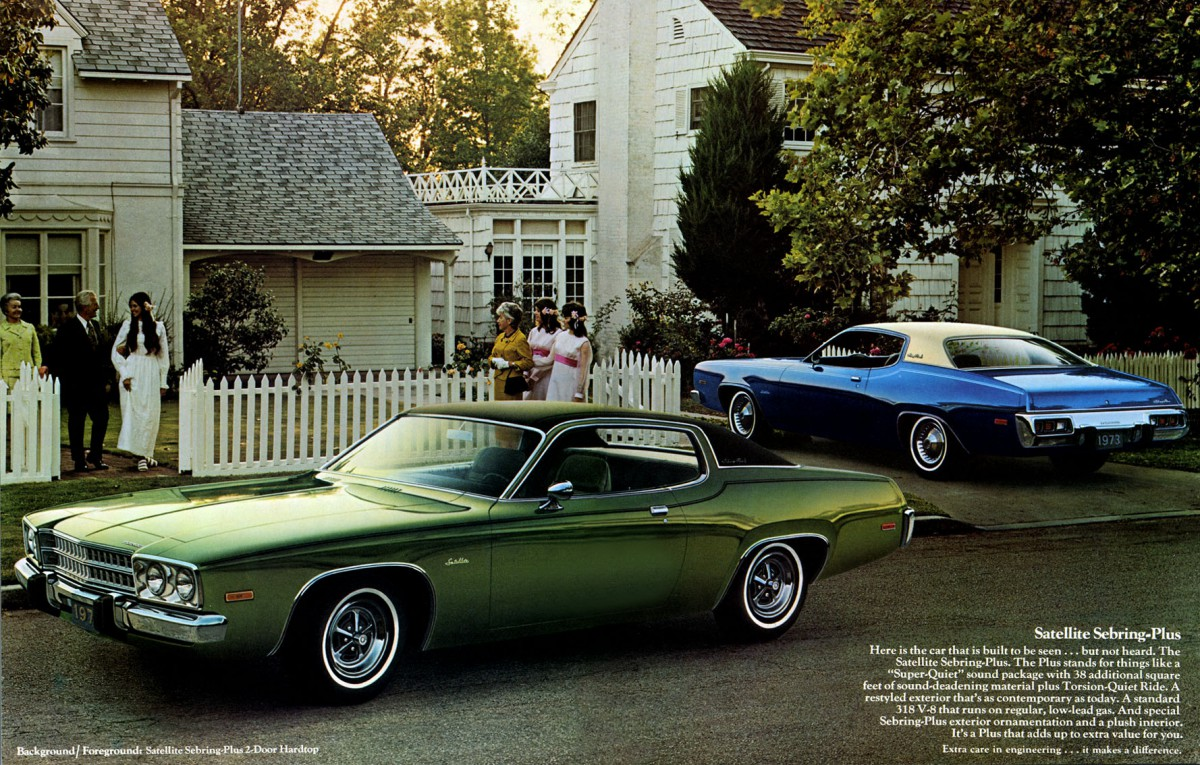 Curbside Classic 1971 Plymouth Satellite Sebring Plus
