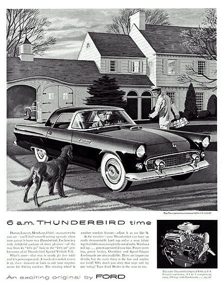 Thunderbird 1955 Ad -01