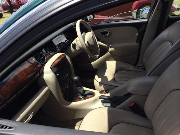 rover 75 interior