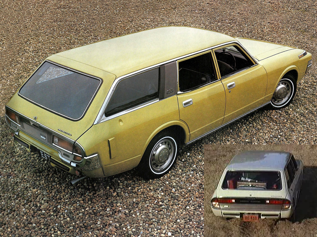 I love me a large ish japanese wagon but i m in two minds about this one the rear lensware is certainly spacey and exotic with the differences between