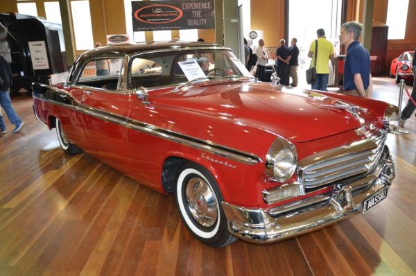 1956 Chrysler Newport coupe