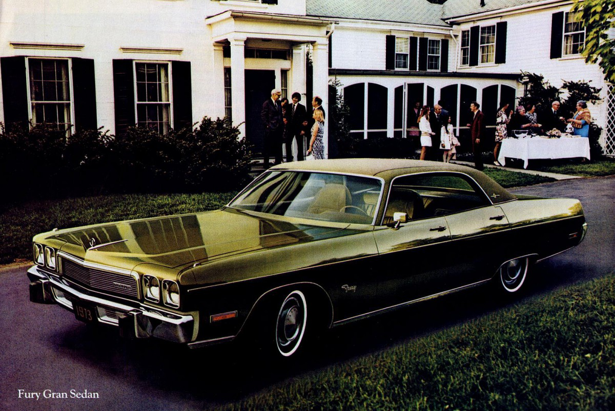 Curbside Classic: 1973 Plymouth Fury III – An Ode to an