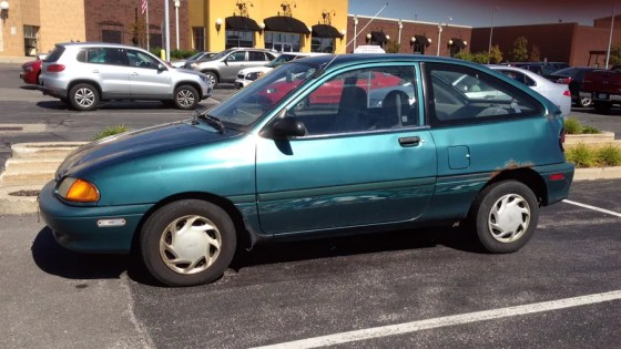 1996 Ford Aspire (2) a