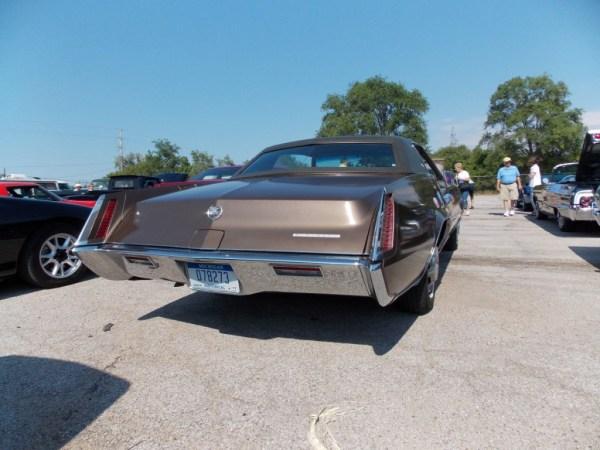 Cadillac 1967 Eldorado tail