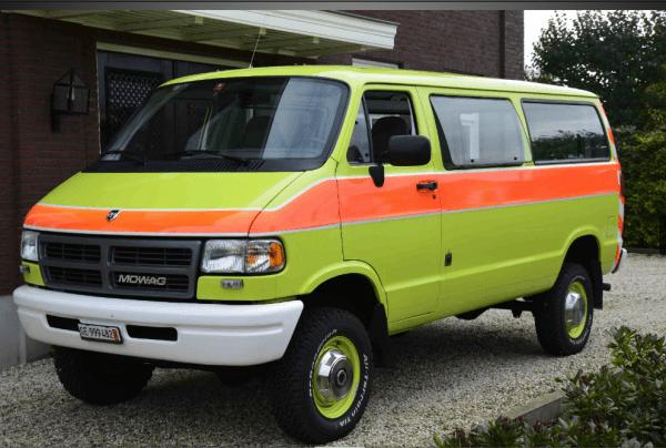 Dodge Mowag 4x4 B350