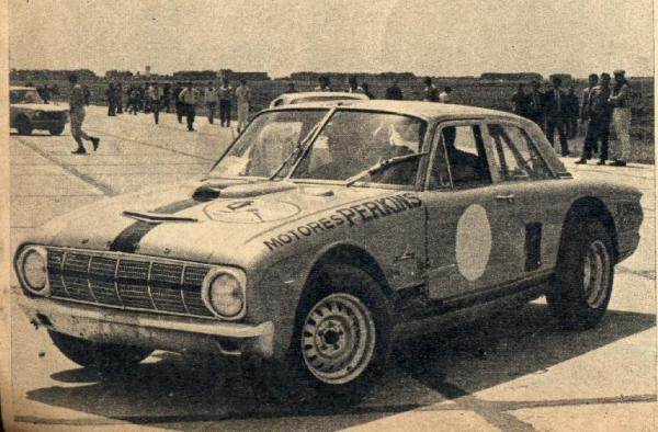 Ford ARG Falcon racing