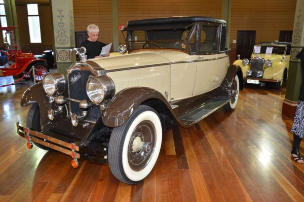 1925 Packard Holbrook coupe