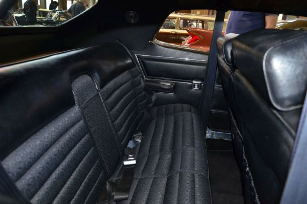 1972 Chrysler Hardtop rear seat