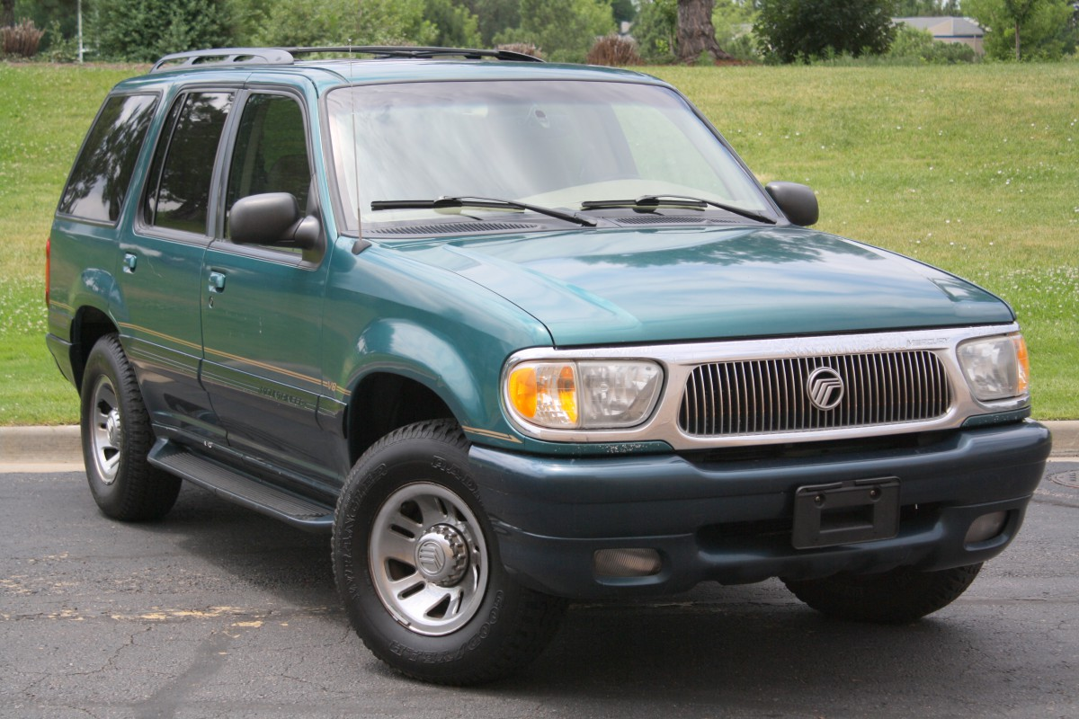 While the 1997 mountaineer wasn t all that different from its ford explorer twin its small tweaks made it a more attractive explorer in your author s