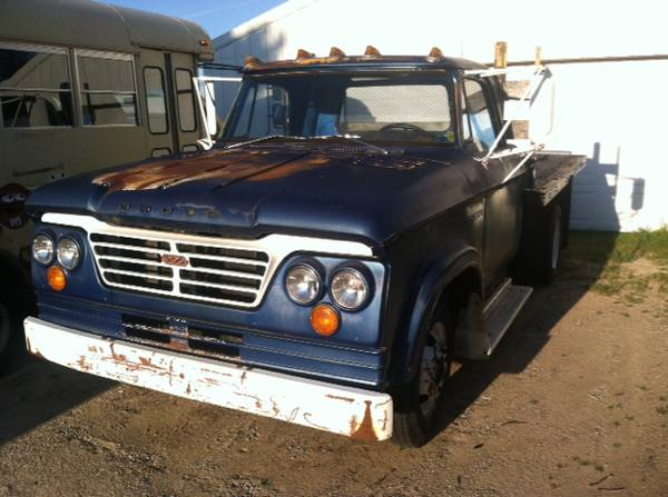 Idle Hands And The Craigslist Classic 1964 Dodge D300 Daddy Wants A