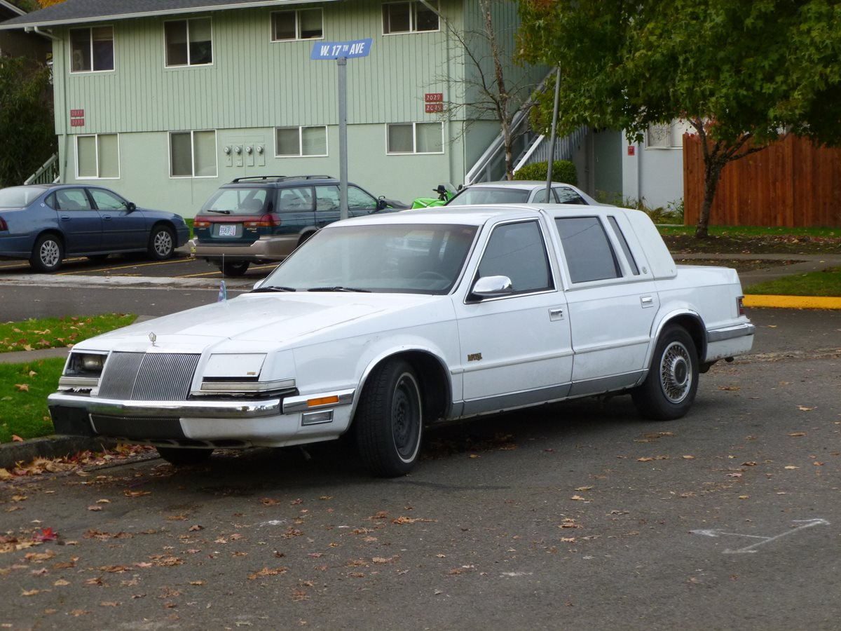 Automotive history the curbside classic comprehensive for 1990 chrysler new yorker salon