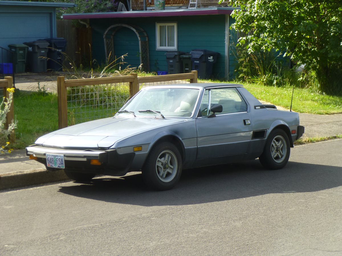 Curbside Classic: Fiat X1/9 – The Mid-Engine Revolution Arrives On Main  Street