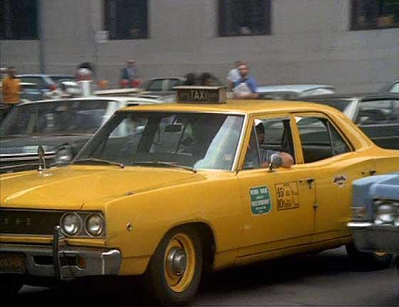 Dodge 1968 coronet taxi