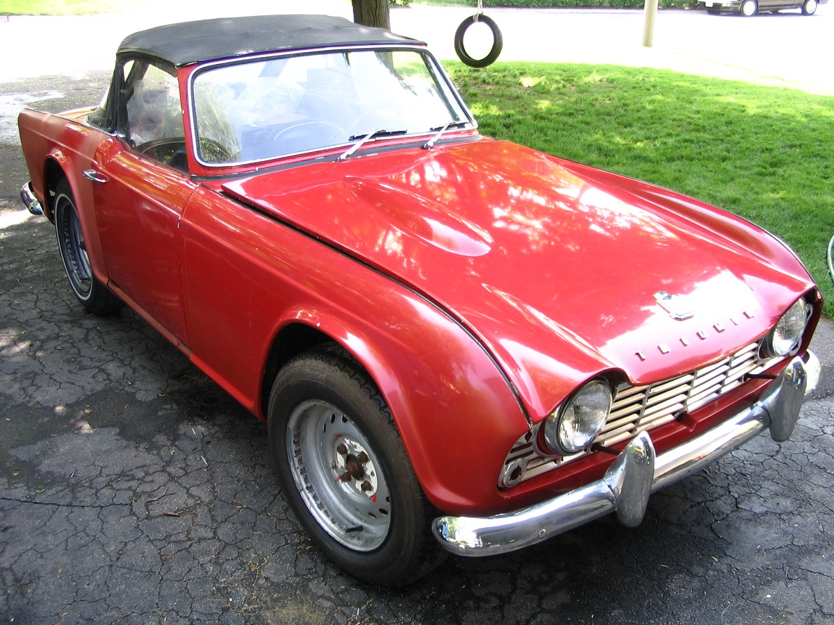 Coal 1962 Triumph Tr4 Know When To Hold Em