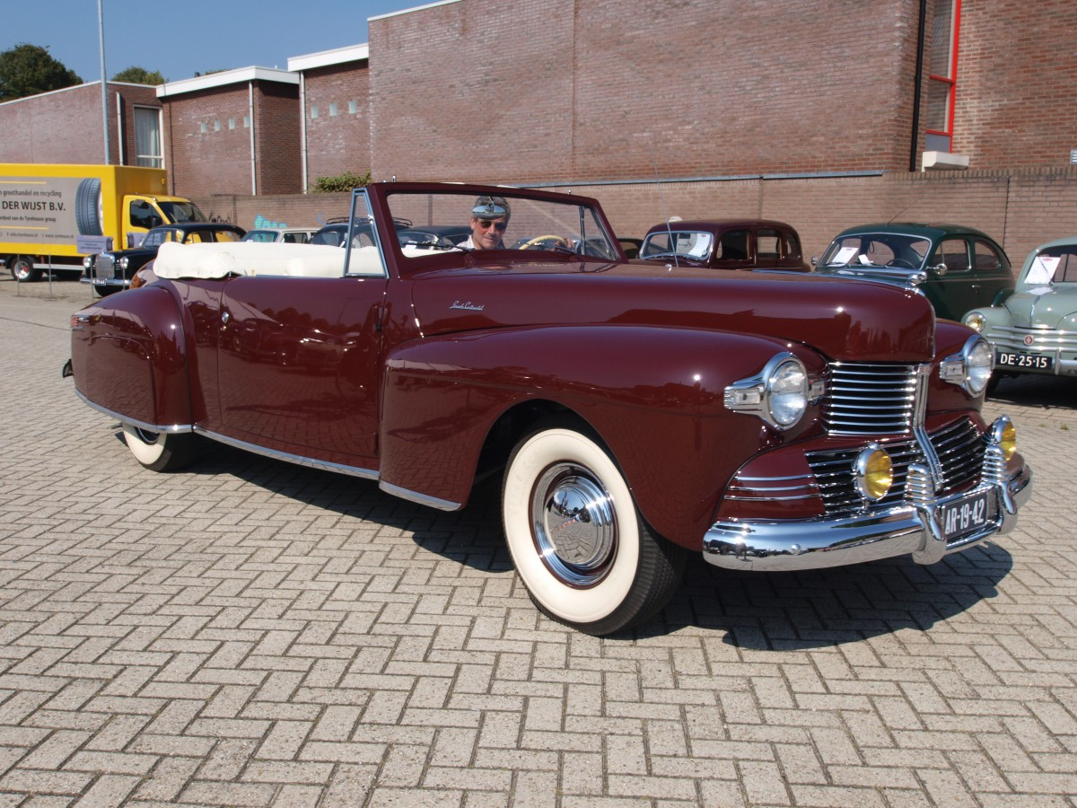 the great 28 car 1 1940 41 lincoln continental cabriolet the most beautifu. Black Bedroom Furniture Sets. Home Design Ideas