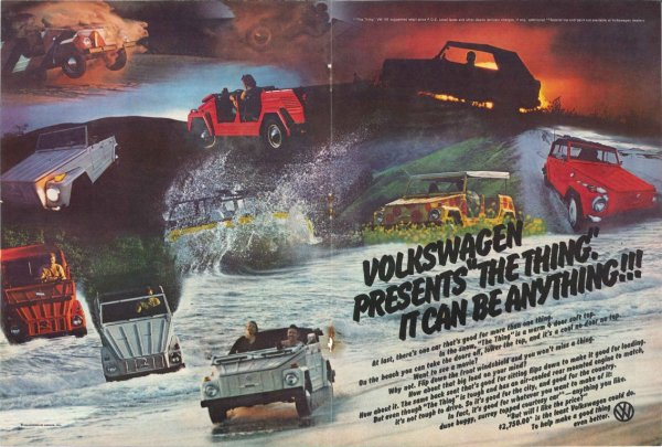 VW THing ad