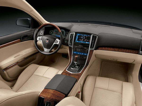 cadillac sls china interior