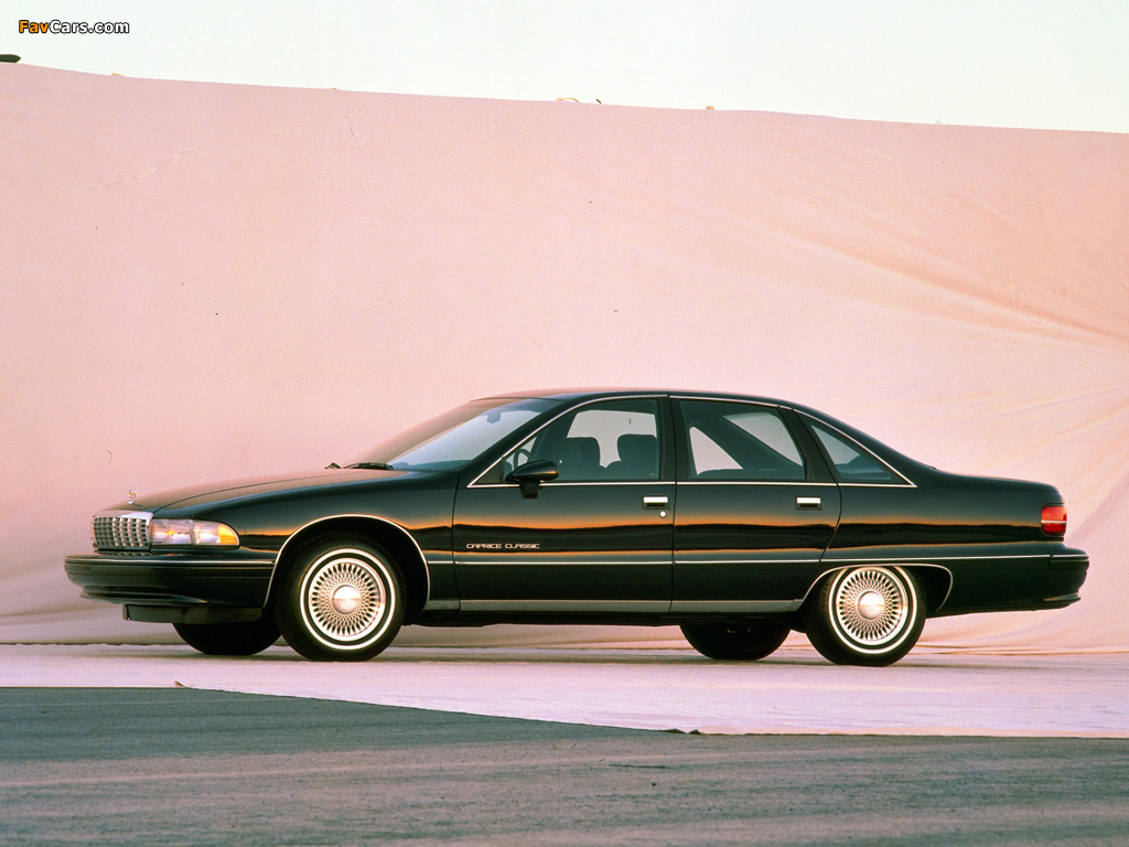 coal 1991 chevrolet caprice living up to a legend rh curbsideclassic com 1991 Crown Victoria 1994 Chevrolet Impala SS