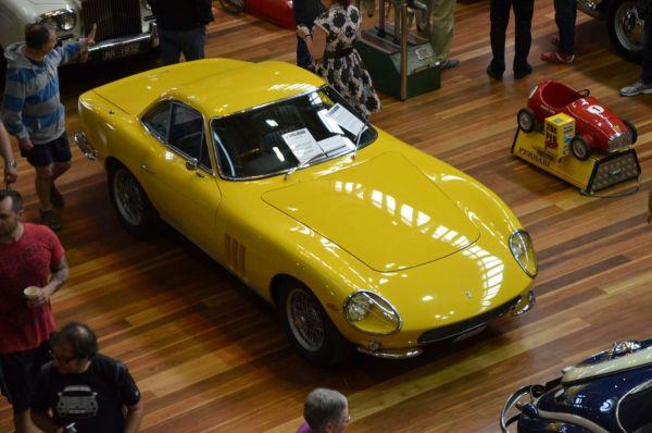 1975 Ferrari 410 GTC speciale overhead