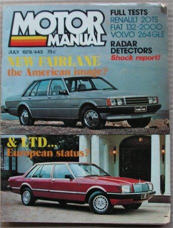 1979 Ford Fairlane and LTD ZJ FC