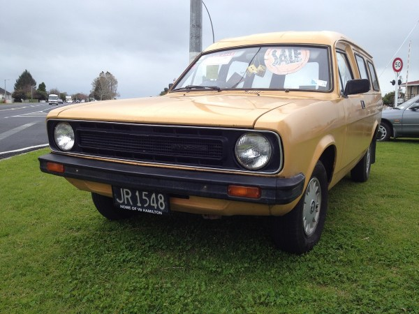 1980 MORRIS Marina can orange fl