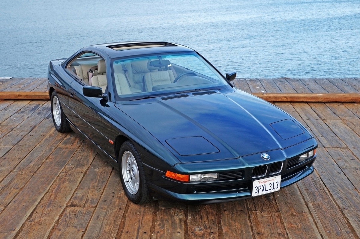 eBay Find (With CC Minature): 1995 BMW 840Ci – Best Of All, It\'s Green