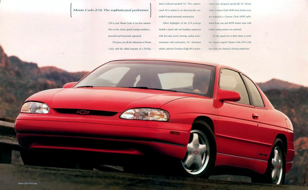 All Chevy 1995 chevrolet monte carlo : Curbside Classic: 1995-99 Chevrolet Monte Carlo – Lumina Coupe Two