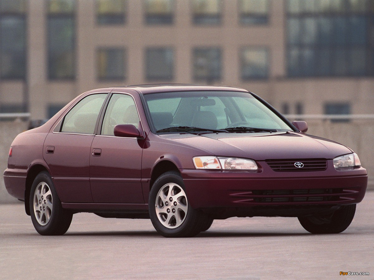 Curbside Classics: 1997 Toyota Camry and 1998 Honda Accord – Two ...