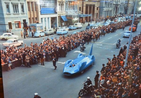 Bluebird Land Speed Record Parade