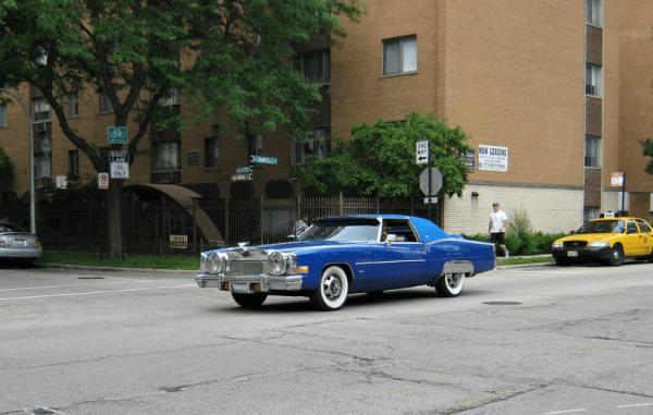Cadillac 1974 Eldorado pimpmobile