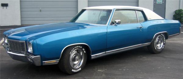 Chevrolet 1971 Monte Carlo ss 454