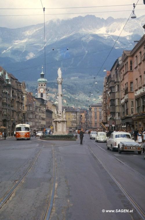 Innsbruck 1965 Maria_Theresien_Strasse_Innsbruck_1965