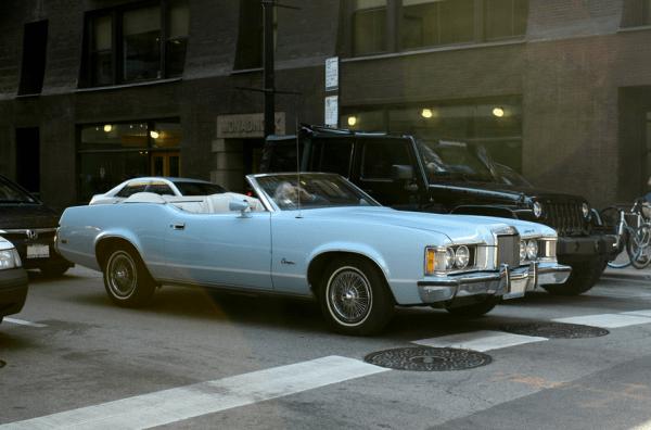 Mercury 1973 Cougar conv fq