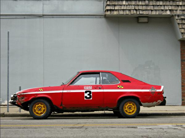 Opel Manta Pro Rally side