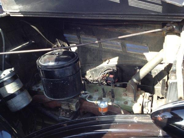 Packard 1937 RV engine