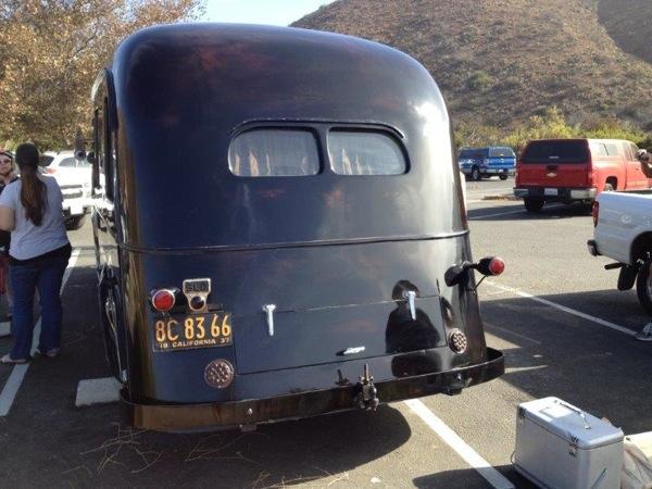 Packard 1937 RV rear