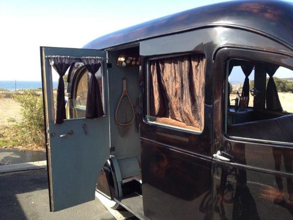 Packard 1937 RV side door