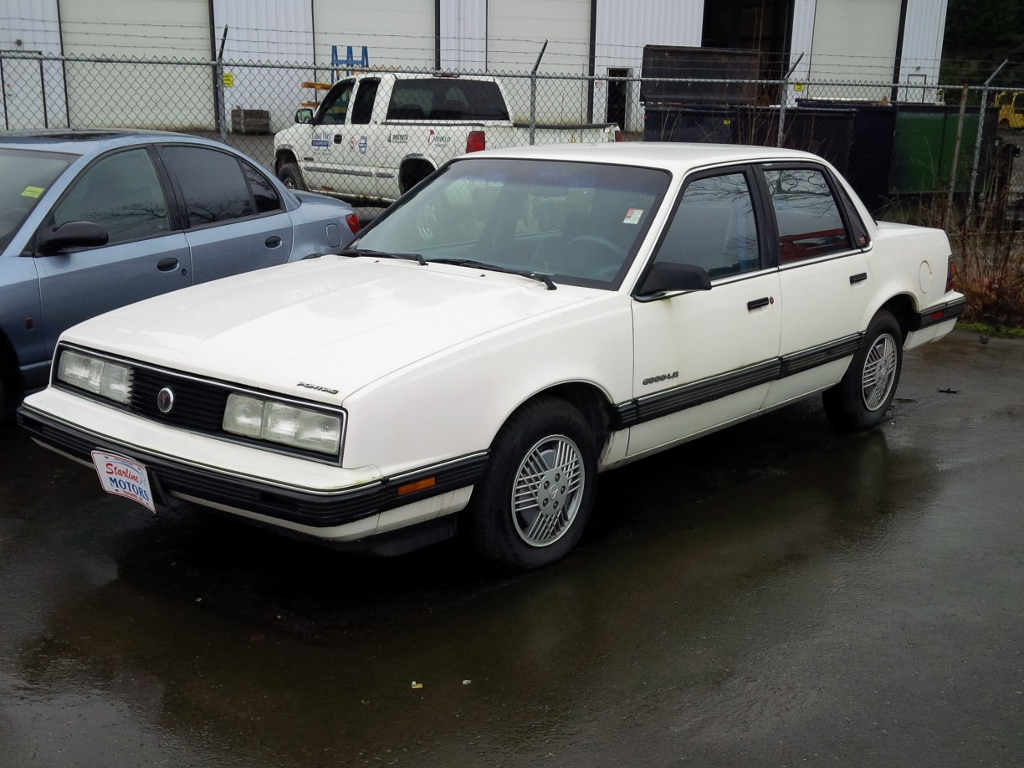Used Car Lot Classic 1991 Pontiac 6000 Le A Rare Sight