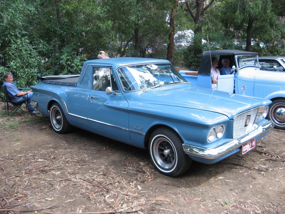 Automotive History – The Valiant in Australia Part 1