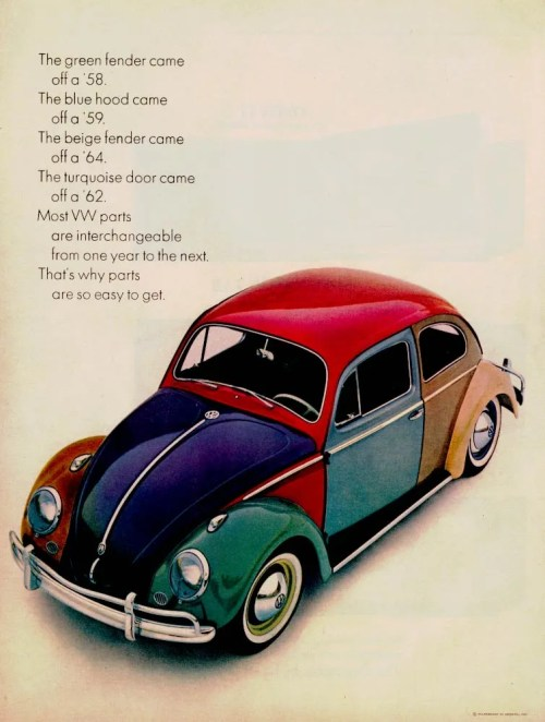 VW 1960 Harlequin beetle_ad