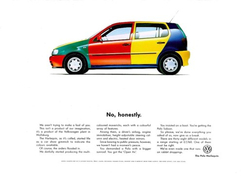 VW 1996 Harlequin Polo
